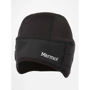 Caciula Marmot Windstopper Beanie Black (Negru)