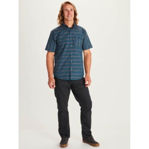 Camasa Drumetie Barbati Marmot Beacon Hill SS Denim (Bleumarin)