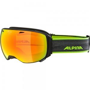 Ochelari Schi si Snowboard Alpina Big Horn HM black matt/red sapphire