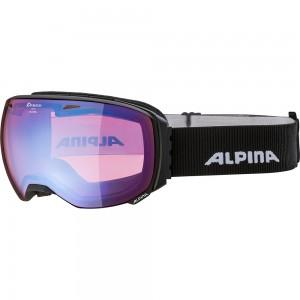 Ochelari Schi si Snowboard Alpina Big Horn HM black matt/blue sapphire