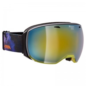 Ochelari Schi si Snowboard Alpina Big Horn MM Trans Yellow/Supernova