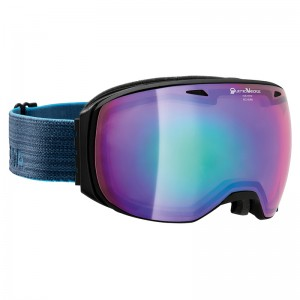 Ochelari Schi si Snowboard Alpina Big Horn QVMM Black Matt/Night Blue