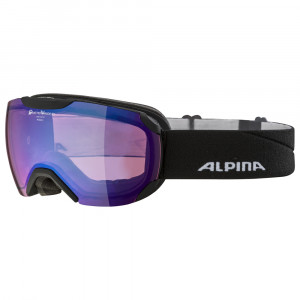 Ochelari Schi si Snowboard Alpina Pheos S black matt QVMM blue