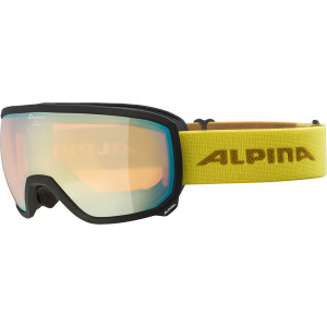 Ochelari Schi si Snowboard Alpina Scarabeo HM black curry/gold sapphire
