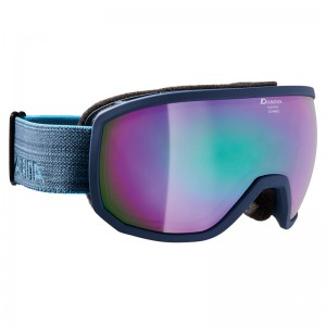Ochelari Schi si Snowboard Alpina Scarabeo MM Navy Matt/Nightblue