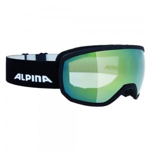 Ochelari Ski si Snowboard Alpina Scarabeo S Black Matt MM Gold