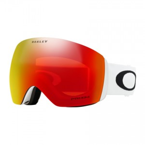 Ochelari Schi si Snowboard Oakley Flight Deck Matte White / Prizm Torch Iridium