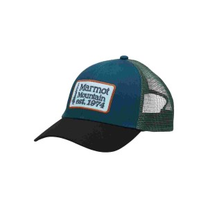 Sapca Marmot Retro Trucker Hat Stargazer/Black (Multicolor)