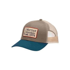Sapca Marmot Retro Trucker Hat Dark Steel/Enamel Blue (Multicolor)
