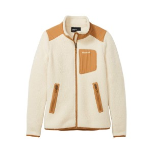 Polar Femei Marmot Wiley Jacket Cream/Scotch (Crem)