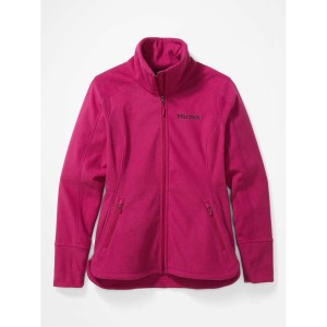 Polar Femei Marmot Pisgah Fleece Jacket Wild Rose (Roz)