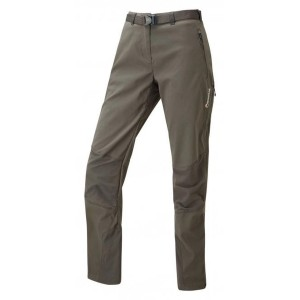 Pantaloni Drumetie Femei Montane Terra Ridge W Gri