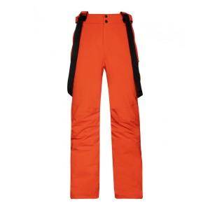 Pantaloni Snowboard Barbati Protest Miikka Orange Fire (Portocaliu)