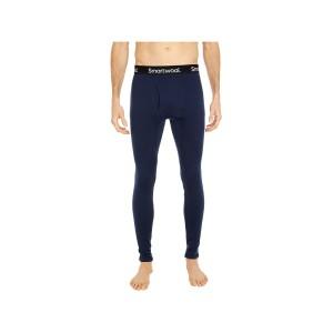 Pantaloni First Layer Barbati Smartwool Merino 250 Base Layer Bottom Boxed Deep Navy (Bleumarin)
