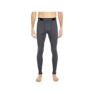 Pantaloni First Layer Barbati Smartwool Merino 250 Base Layer Pattern Bottom Boxed Medium Gray Tick Stitch (Gri)