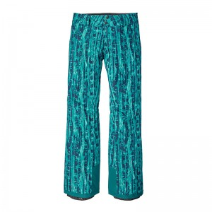 Pantaloni Schi si Snowboard Patagonia Insulated Snowbelle Regular W Verde