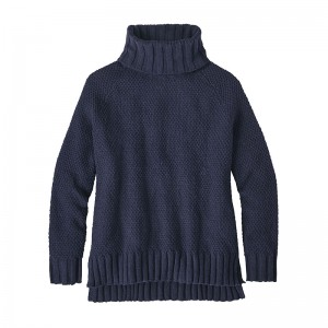 Pulover Patagonia Off Country Turtleneck W Albastru