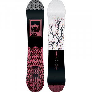 Placa Snowboard Rome National 158 2020