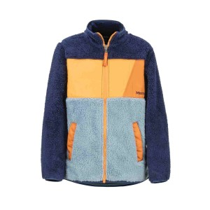 Polar Copii Marmot Boy's Roland Fleece Blue Granite/Arctic Navy (Bleumarin)
