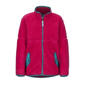 Polar Copii Marmot Girl's Lariat Fleece Disco Pink (Roz)