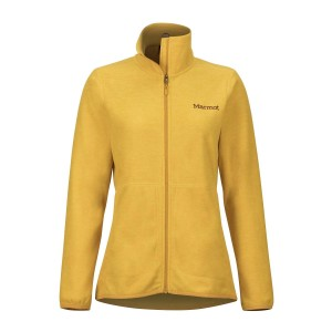 Polar Femei Marmot Pisgah Fleece Yellow Gold (Galben)