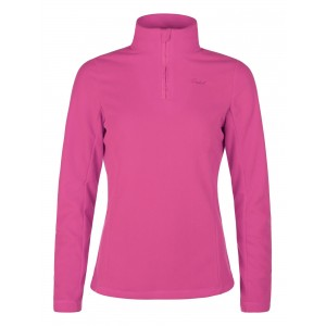 Polar Femei Protest Mutey 1/4 Zip Top Roz