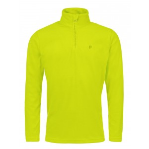 Polar Barbati Protest Perfecty 1/4 Zip Top Lime