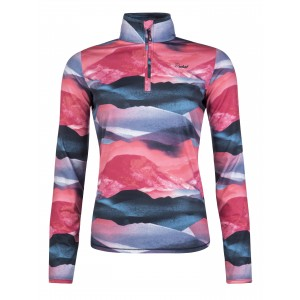 Bluza First Layer Femei Protest Suggi 1/4 Zip Top Multicolor