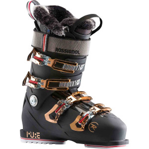 Clapari Ski Femei Rossignol Pure Pro Heat (Night Black)