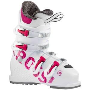 Clapari Ski Copii Rossignol FUN GIRL 4 Alb