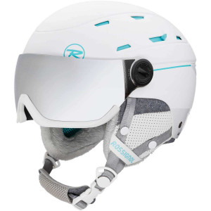 Casca Ski Femei Rossignol Allsped Visor Impacts W White (Alb)
