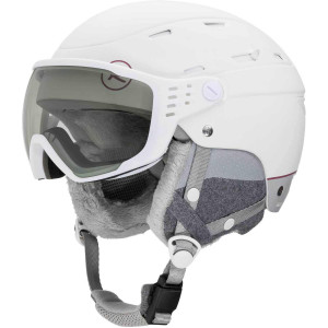 Casca Ski Femei Rossignol Allsped Visor Impacts W Photocromic (Alb)