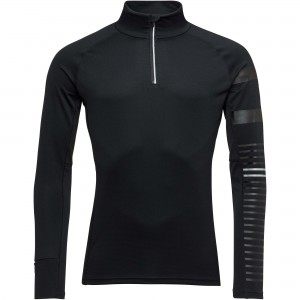 Bluza First Layer Barbati Rossignol POURSUITE 1/2 ZIP Negru