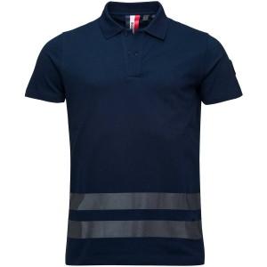 Tricou Barbati Rossignol Stripes Polo Eclipse (Bleumarin)