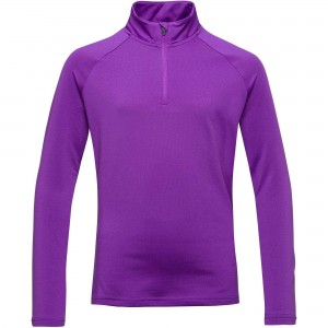 Bluza Mid-Layer Fete Rossignol 1/2 ZIP WARM STRETCH Mov