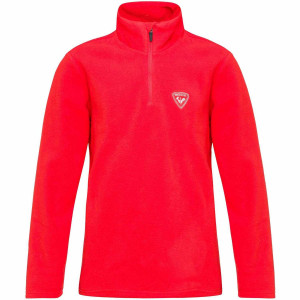 Bluza First Layer Copii Rossignol Boy 1/2 Zip Fleece Crimson (Rosu)
