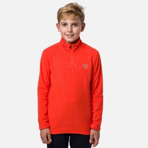 Polar Drumetie Copii Rossignol Boy 1/2 Zip Fleece Lava Orange (Portocaliu)