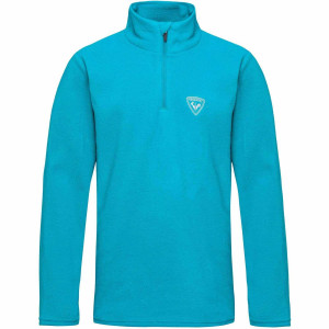 Bluza First Layer Copii Rossignol Boy 1/2 Zip Fleece Methyl (Bleu)