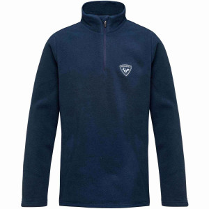 Bluza First Layer Copii Rossignol Boy 1/2 Zip Fleece Dark Navy (Bleumarin)
