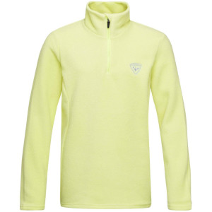 Bluza First Layer Copii Rossignol Girl 1/2 Zip Fleece Sunny Lime (Lime)