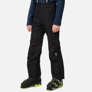 Pantaloni Ski Copii Rossignol Boy Zip Pant Black (Negru)