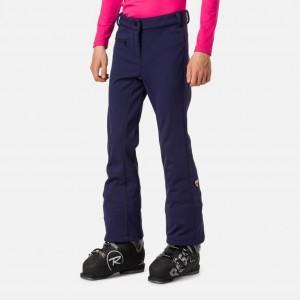 Pantaloni Ski Copii Rossignol Girl Ski Softshell Pant Nocturne (Bleumarin)