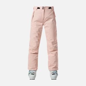 Pantaloni Ski Copii Rossignol Girl Ski Pant Powder Pink (Roz)