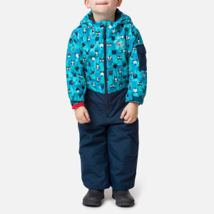Combinezon Copii Rossignol Kid Flocon Suit Tiny Forest (Bleumarin)