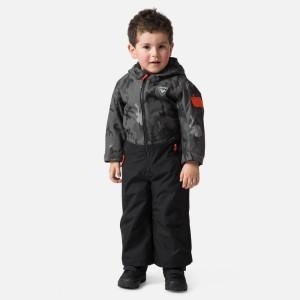 Combinezon Ski Copii Rossignol Kid Flocon Suit Camo Grey (Camuflaj)
