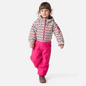 Combinezon Ski Copii Rossignol Kid Flocon Suit Micro Rooster Wh (Roz)