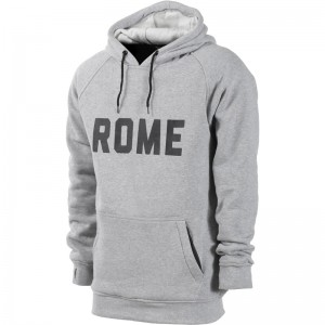 Hanorac Rome Riding Pullover Heather Gri