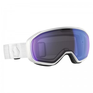 Ochelari Schi si Snowboard Scott Fix White / Illuminator Blue Chrome