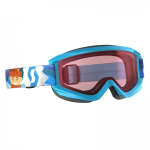 Ochelari Ski si Snowboard Juniori Scott Agent Blue / Amplifier