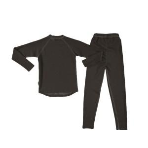 Set Underwear Copii Trekmates Thermal Junior Black